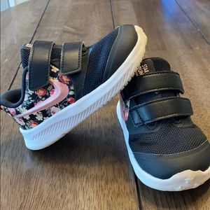 Floral Nike toddler shoes